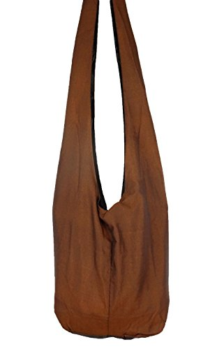 ZEN SHOP , Borsa Messenger  marrone marrone 85 X 30 cm