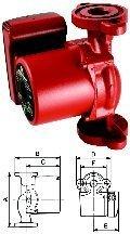 Grundfos 59896155 Single Phase Circulating Pump by Grundfos