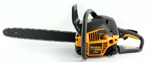 Poulan Pro PP4218A 18' 42CC 2 Cycle Gas Powered Chain Saw Home Tree Chainsaw