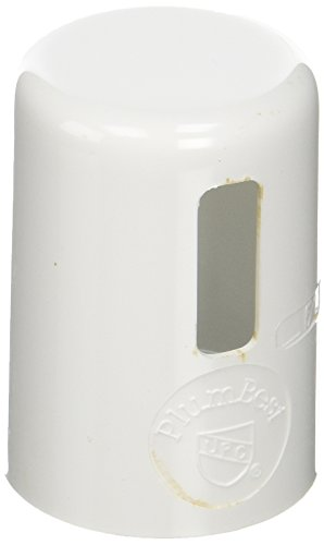 - Jones Stephens A10002 Polar Air Gap Faucet Cover, White