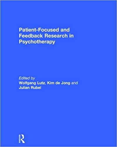 Book Patient-Focused and Feedback Research in Psychotherapy