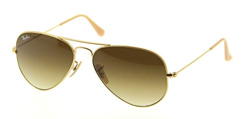 Ray Ban RB3025 Aviator Sunglasses-001/4I Gold Gold (Brown Photo ()