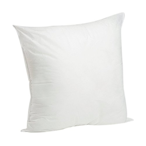 New White Pillow Insert- Hypoallergenic, Machine Washable...