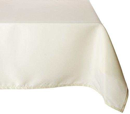 Gee Di Moda Rectangle Tablecloth – 60 x 102 Inch – Rectangular Table Cloth for 6 Foot Table in Washable Polyester – Great for Buffet Table, Parties, Holiday Dinner, Wedding & More