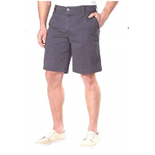 G.H. Bass & Co............. Men's Flex Waistband Stretch Shorts, Variety (34, Olive - Shorts Bass Cotton