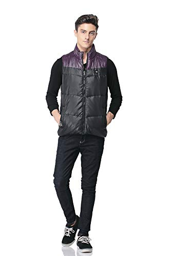5v Men's Winter Power Reversible Bank Use 2a Pau1Hami1ton Warm Gilet Heated Own Vest Outdoor Purple PJ Your 01 Battery Xxwqq46Ef