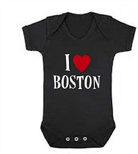 boston baby onesie I love Boston infant one piece
