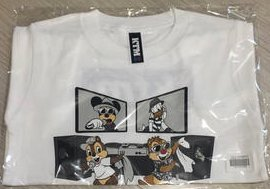 ケツメイシ ディズニー 15周年 コラボ Tシャツ KTM Disney TEE Lサイズ 白