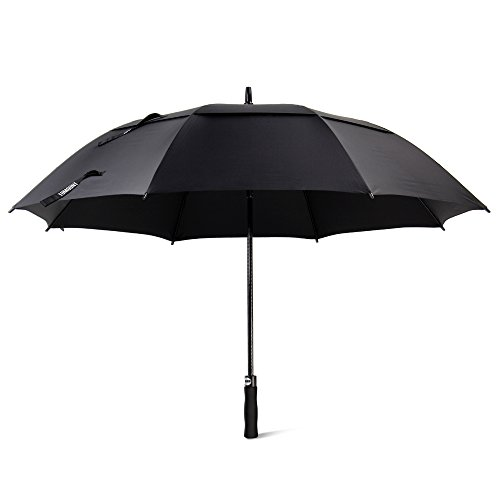 Amazon.com : Golf Umbrella, Large Windproof Umbrella for Men, 62 Wind Resistant Umbrella Auto Open Rain Umbrella Black Extra Large for Women, ...
