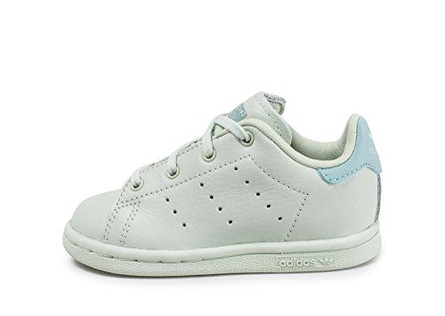 adidas Stan Smith i, Sneaker Unisex-Bimbi Verde (Verlin / Verlin / Vertac)