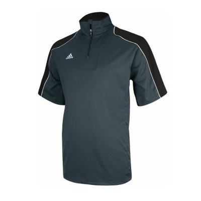 1/4 Warm Up Zip Jacket - Adidas Men's Gameday Short Sleeve Hot Jacket