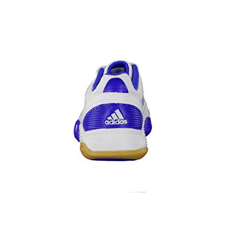 Damen team blau Hallenschuh W 0 feather adidas weiss Handball AUdqwdO