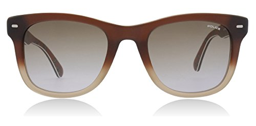 Police W41M Matte brown gradient S1861 - Brown - Skyline Sunglasses Police