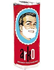 Arko Shaving Soap Stick, White, (Pack Of 3)