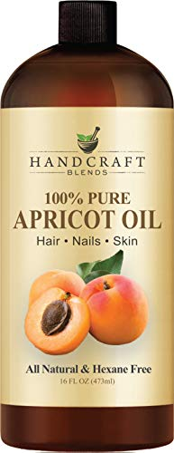 100% Pure Apricot Kernel Oil - HUGE 16 OZ - All Natural Premium Quality - Cold Pressed Carrier Apricot Oil for Aromatherapy, Massage & Moisturizing Skin