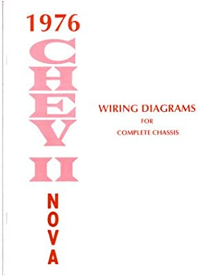 Strange Amazon Com 1976 Chevrolet Nova Wiring Diagrams Schematics Automotive Wiring Digital Resources Sulfshebarightsorg