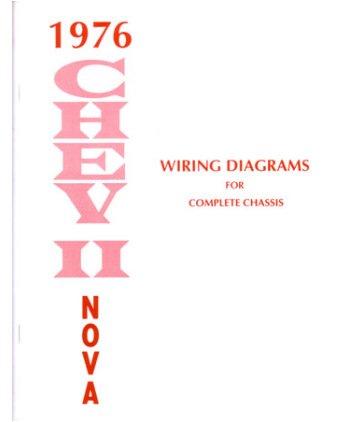 Amazon com 1976 chevrolet nova wiring diagrams schematics automotive 1976 Chevy Camaro Wiring Diagram Chevy Wiring Harness Diagram 1966 Chevy Nova Wiring Diagram on 1976 chevy nova wiring diagram