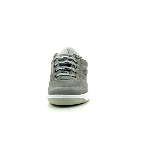 TBS - Zapatos de cuero para mujer gris