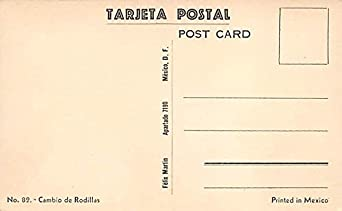 Salvador Carrena Tarjeta Postal Bullfighting Unused at ...