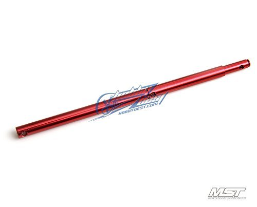 MST FSX Alum. propeller shaft (red) [210473R] -