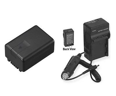 Battery + Charger for Panasonic HDC-SD90, Panasonic HDC-SD90K, Panasonic HDC-TM90 by photo High Quality