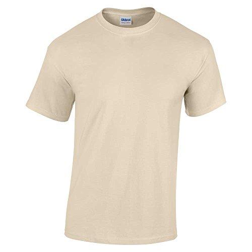 Gildan Plain Shirt Heavy Sand T Cotton Adult 100 vqvRrAa