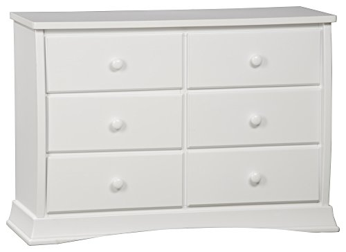 Delta Children Bentley Six Drawer Dresser, White by Delta Children