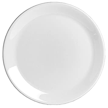 Steelite Taste Coupe Plate 25.25cm | 10inch Dinner Plate Ceramic Plate Amazon.co.uk Kitchen u0026 Home  sc 1 st  Amazon UK & Steelite Taste Coupe Plate 25.25cm | 10inch Dinner Plate Ceramic ...