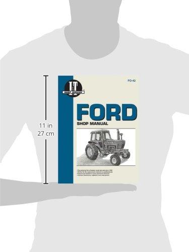 Ford SRS 5000 5600 5610 6600+ I & T Shop Service Manuals ...