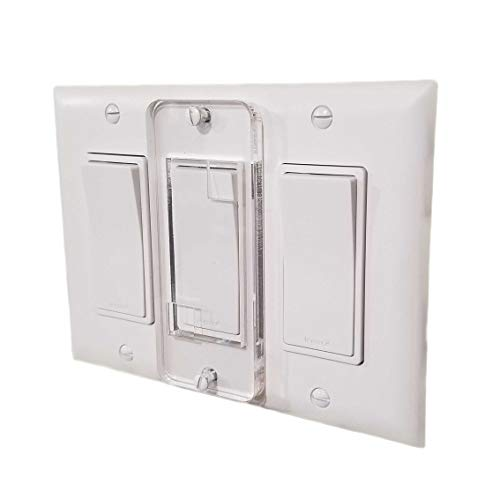 Decora Style Wall - Decora Switch Light Switch Guard Protector, Child Safe, Residential, Sump, HotTub