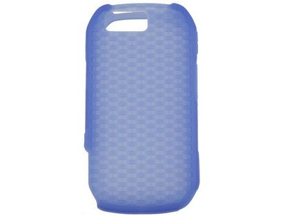 Soft Silicone Skin Cover Case Dark Blue for Motorla ()
