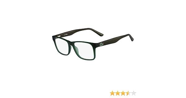 41a6ea2ac3 Eyeglasses LACOSTE L 2741 315 GREEN MATTE at Amazon Men s Clothing store