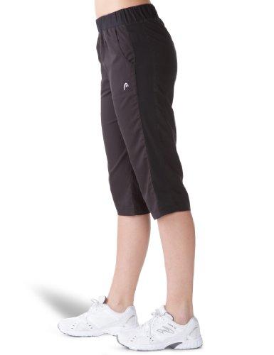 HEAD Club - Pantalones de tenis para mujer negro