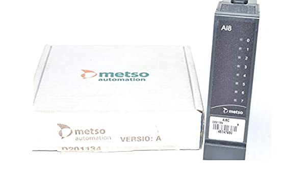 Metso Automation D201134 AI8 Analog Input Module PLC AI8C