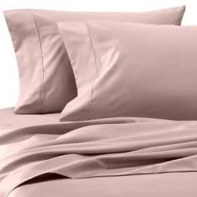 Egyptian Bedding 1200 Thread Count Egyptian Cotton 1200TC Bed in a Bag, Full, Pink Solid 1200 TC - Sheet Set, Duvet Set and Down