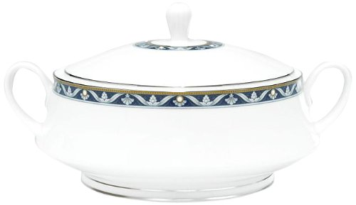 - Noritake Pearl Majesty Covered Vegetable Bowl, 48-Ounce