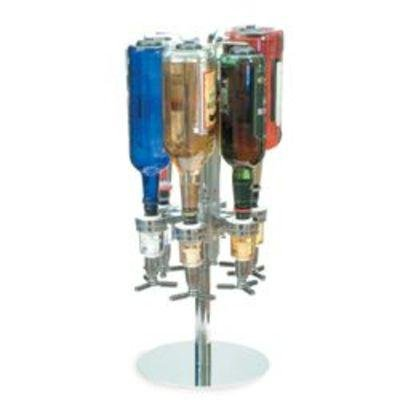Six Bottle Shot Dispenser - Nostalgia Electrics SSD-530K Six-Bottle Shot Dispenser