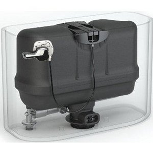 (Pressure Assist Flushing System, Plastic)
