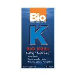 Bio Nutrition Krill Soft Gels, 45 Count