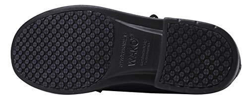 pelle e Zoccoli scarpe Unisex da cucina antinfortunistiche in Unisex Insun da nere lavoro qY4xZw6