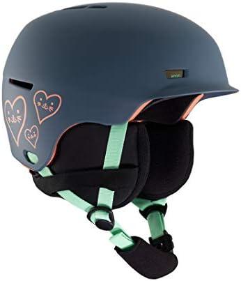 Anon Kids Flash Durable Ski Snowboard Helmet with Brim