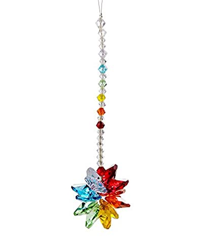Anna Crystalworld Chandelier Crystal Starburst Window Decoration Chakra Suncatcher (10.3
