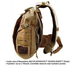 Maxpedition Monsoon Gearslinger, Black by Maxpedition (Image #4)