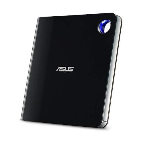 Drive Gravador de Blu-ray Asus (SBW-06D5H-U~90DD02G0-M20000) Externo USB 3.1