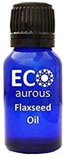 (Flaxseed (Linum usitatissimum) Oil 100% Natural, Organic & Vegan Flaxseed Essential Oil | Flaxseed Absolute Essential Oil | Pure Flaxseed Oil By Eco Aurous (1.01 oz, 30 ml))