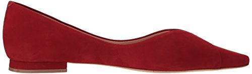 Schutz Ballet Women's Red Sasha Tango Flat xqCYB7Zqw