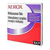 Xerox(R) 5100/4135 Straight Collated Copier Tabs, White, Box Of 250