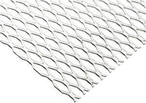 (JumpingBolt Steel Expanded Metal, Galvanized, Flattened Sheet 1/2#16.050
