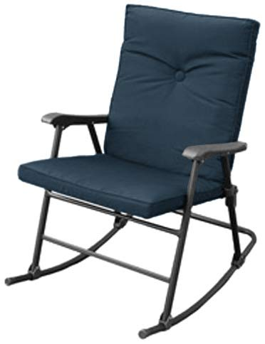 Prime Products 13-6602 La Jolla California Blue Rocker Chair - Padded Director Chair Cover