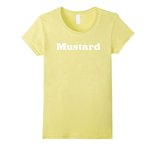 Womens Mustard T-shirt BBQ Sauce Medium Lemon - French's Mustard Costume